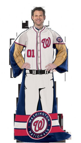 Washington Nationals Full Body Comfy Throw Blanket