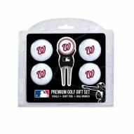 Washington Nationals Golf Ball Gift Set