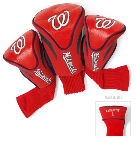 Washington Nationals Golf Headcovers - 3 Pack