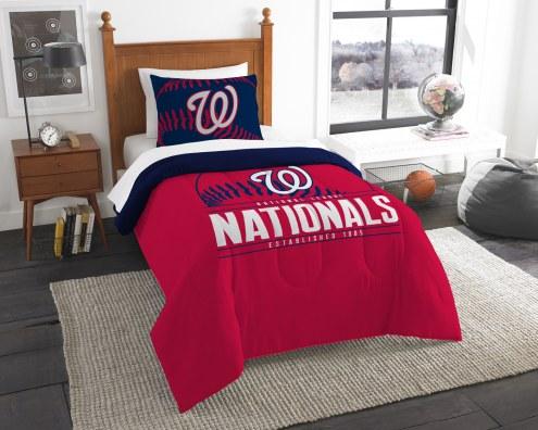 Washington Nationals Grand Slam Twin Comforter Set
