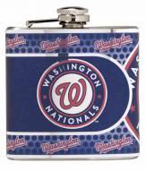 Washington Nationals Hi-Def Stainless Steel Flask