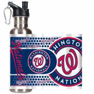 Washington Nationals Hi-Def Stainless Steel Water Bottle