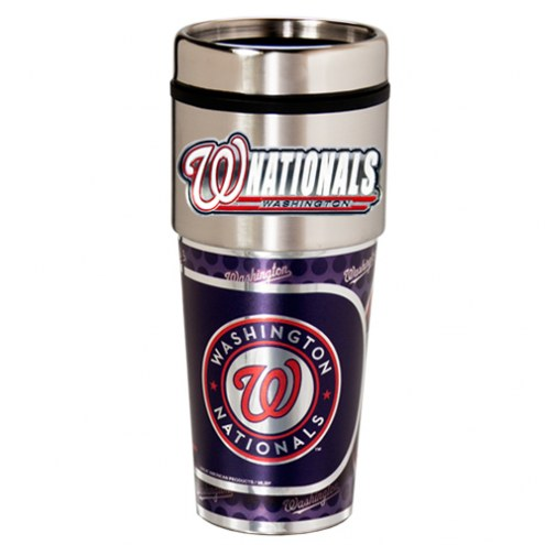 Washington Nationals Hi-Def Travel Tumbler