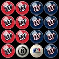 Washington Nationals MLB Home vs. Away Pool Ball Set