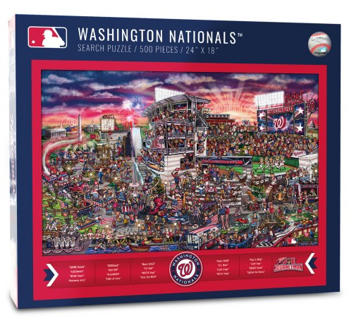 Washington Nationals Joe Journeyman Puzzle