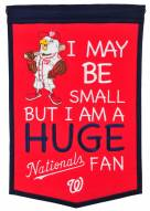 Washington Nationals Lil Fan Traditions Banner
