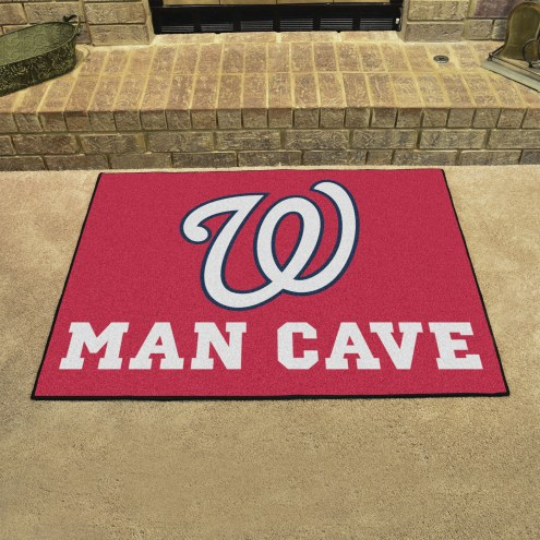 Washington Nationals Man Cave All-Star Rug