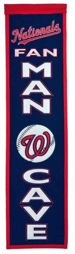 Washington Nationals Man Cave Banner
