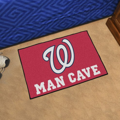 Washington Nationals Man Cave Starter Mat