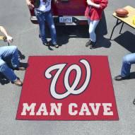 Washington Nationals Man Cave Tailgate Mat