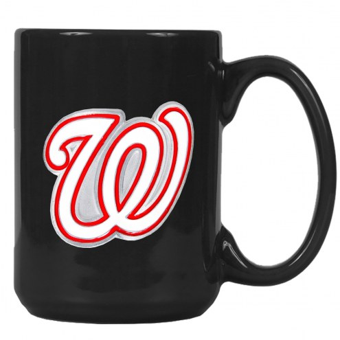 Washington Nationals MLB 2-Piece Ceramic Coffee Mug Set