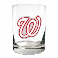 Washington Nationals MLB 2-Piece 14 Oz. Rocks Glass Set
