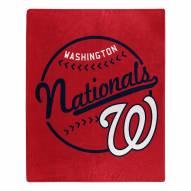 Washington Nationals Moonshot Raschel Throw Blanket