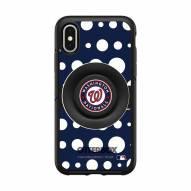 Washington Nationals OtterBox Symmetry Polka Dot PopSocket iPhone Case