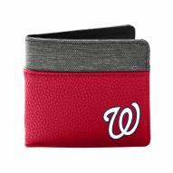 Washington Nationals Pebble Bi-Fold Wallet