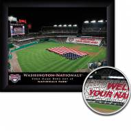 Washington Nationals 11 x 14 Personalized Framed Stadium Print