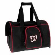 Washington Nationals Premium Pet Carrier Bag