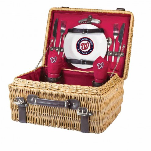 Washington Nationals Red Champion Picnic Basket