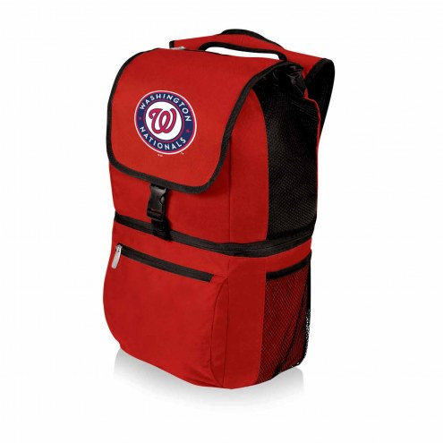 Washington Nationals Red Zuma Cooler Backpack
