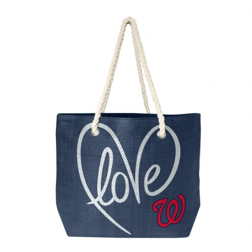 Washington Nationals Rope Tote