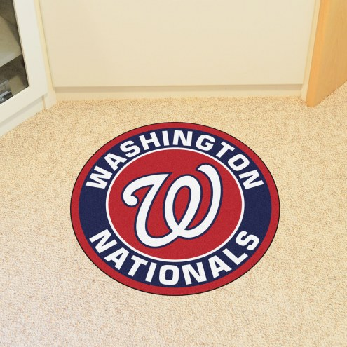 Washington Nationals Rounded Mat