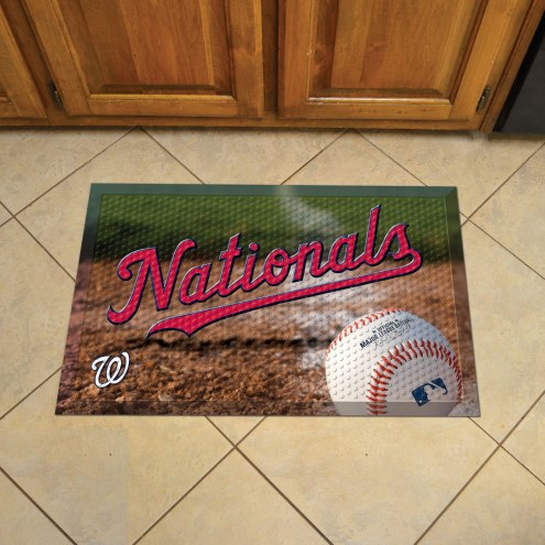 Washington Nationals Scraper Door Mat
