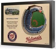 Washington Nationals 25-Layer StadiumViews 3D Wall Art
