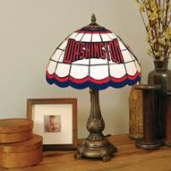 Washington Nationals Stained Glass Tiffany Table Lamp