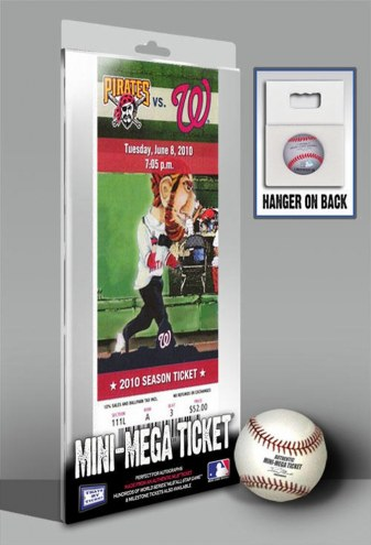 Washington Nationals Strasburg Debut Mini Mega Ticket