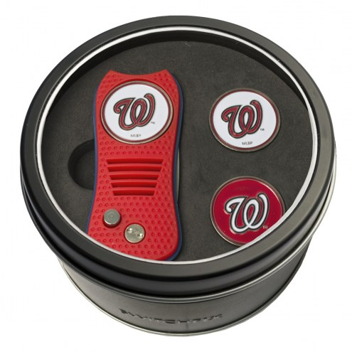 Washington Nationals Switchfix Golf Divot Tool & Ball Markers