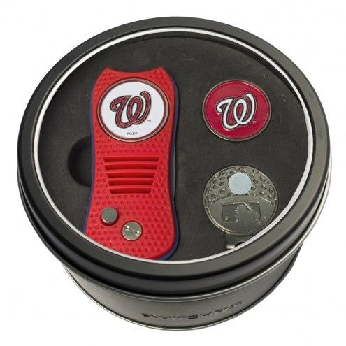 Washington Nationals Switchfix Golf Divot Tool, Hat Clip, & Ball Marker