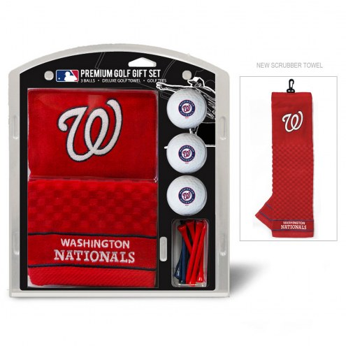 Washington Nationals Golf Gift Set