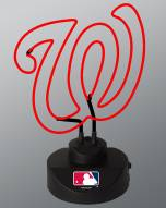 Washington Nationals Team Logo Neon Lamp
