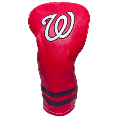 Washington Nationals Vintage Golf Driver Headcover
