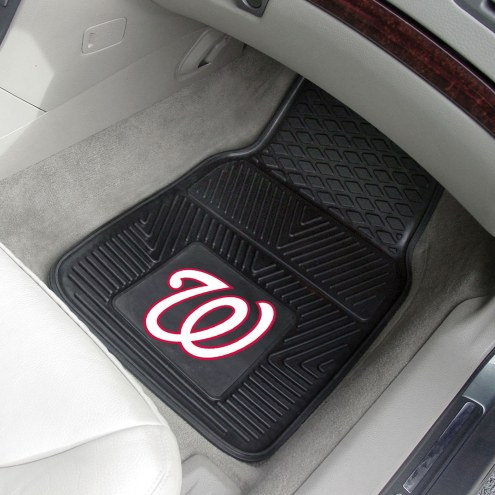 Washington Nationals Vinyl 2-Piece Car Floor Mats