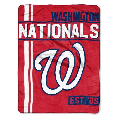 Washington Nationals Walk Off Throw Blanket