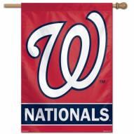 "Washington Nationals 28"" x 40"" Banner"