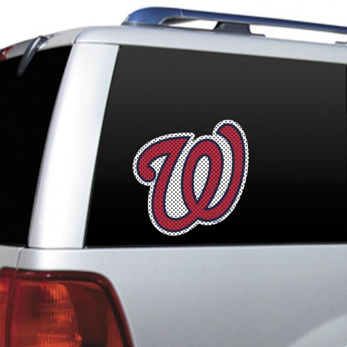 Washington Nationals Window Film