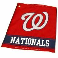 Washington Nationals Woven Golf Towel