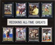 "Washington Redskins 12"" x 15"" All-Time Greats Plaque"