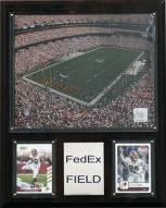 "Washington Redskins 12"" x 15"" FedEx Field Plaque"
