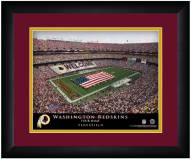Washington Redskins 13 x 16 Personalized Framed Stadium Print