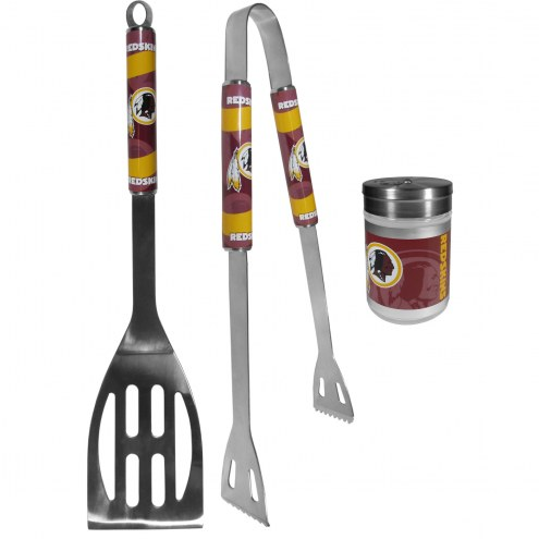 Washington Redskins 2 Piece BBQ Set with Season Shaker