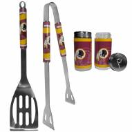 Washington Redskins 2 Piece BBQ Set with Tailgate Salt & Pepper Shakers