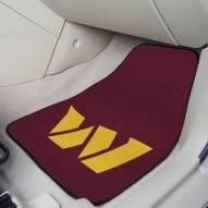 Washington Redskins 2-Piece Carpet Car Mats
