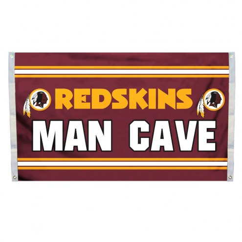 Washington Redskins 3' x 5' Man Cave Flag