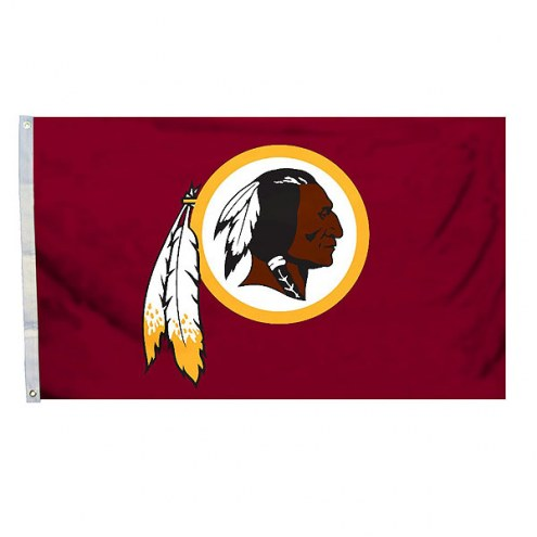 Washington Redskins 3' x 5' Logo Flag