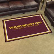 Washington Redskins 4' x 6' Area Rug