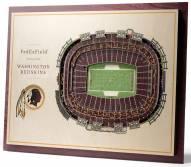 Washington Redskins 5-Layer StadiumViews 3D Wall Art