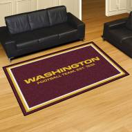 Washington Redskins 5' x 8' Area Rug